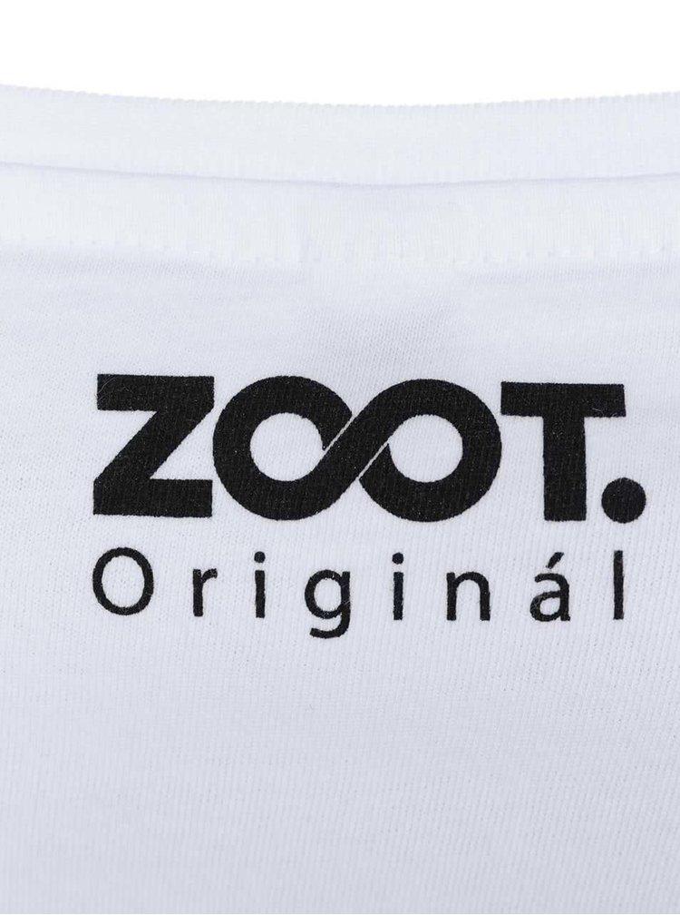 Tricou ZOOT Original Kiss alb