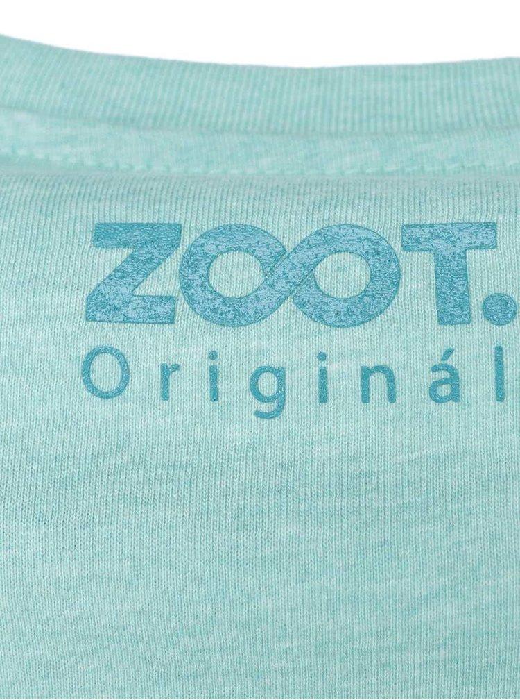 Tyrkysové pánske tričko ZOOT Originál Chillin