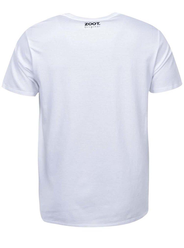 Biele pánske tričko ZOOT Originál Inflagranti