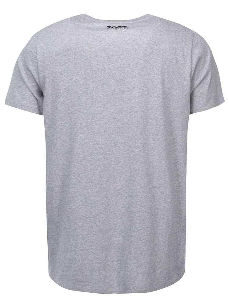 Sivé pánske tričko ZOOT Originál Pozice
