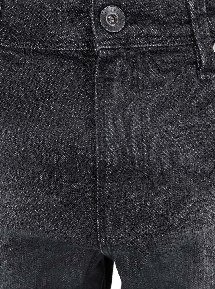 Černé úzké džíny Selected Homme Two Mario