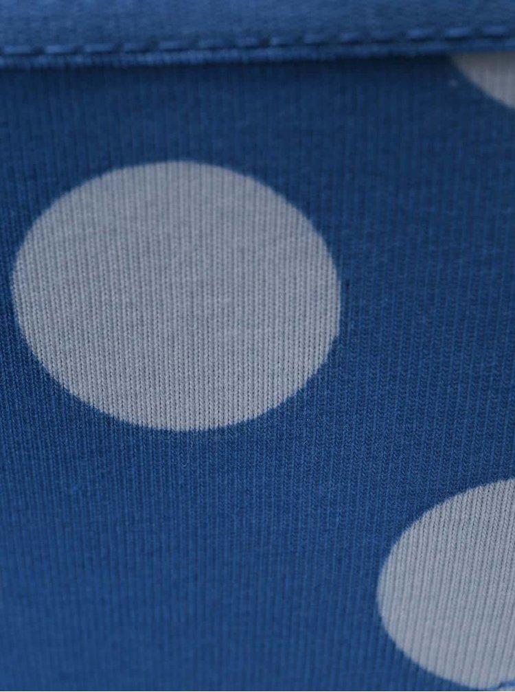 Modré nohavičky so sivými bodkami Happy Socks Big Dots