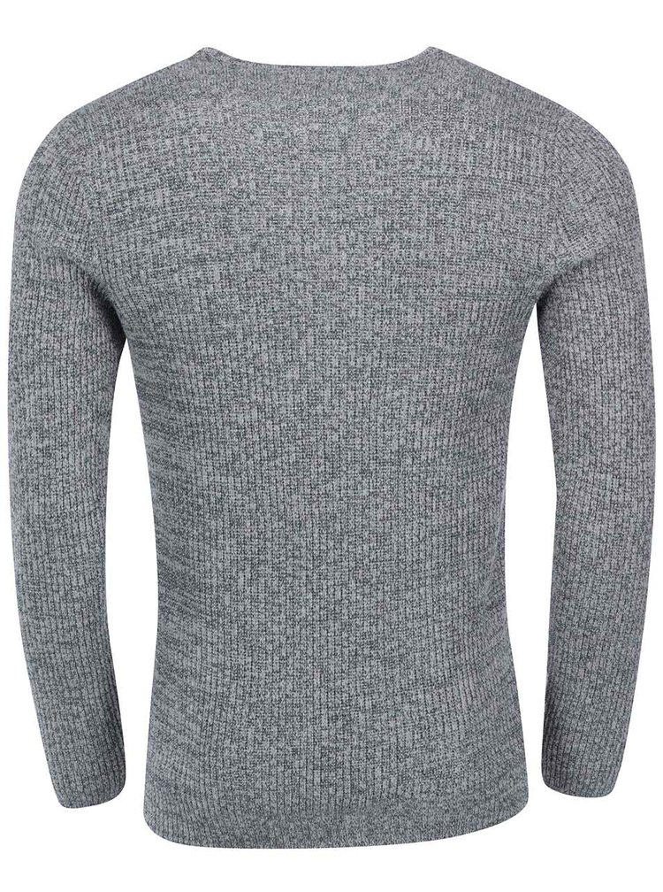 Pulover gri închis Selected Homme Keen