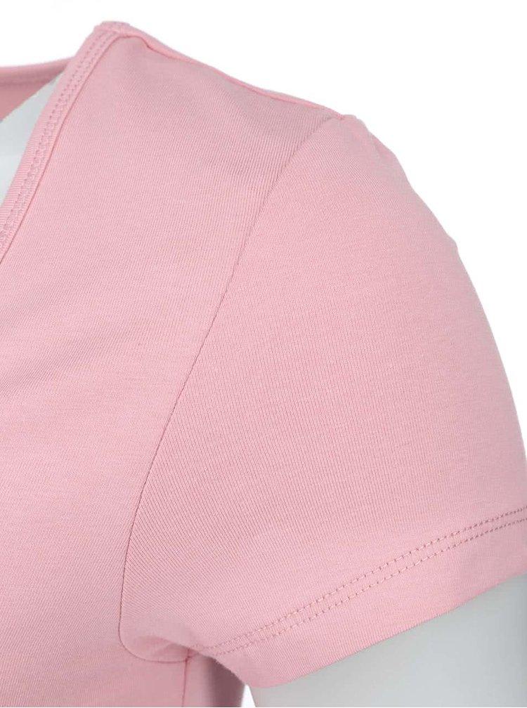Tricou la baza gatului, roz deschis, ONLY Live Love