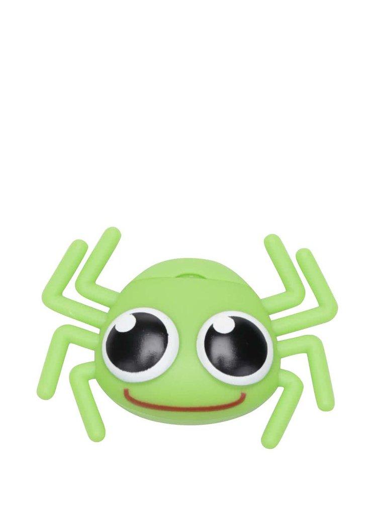 Zelený zásobník na dentálnu niť Kikkerland Pavúk