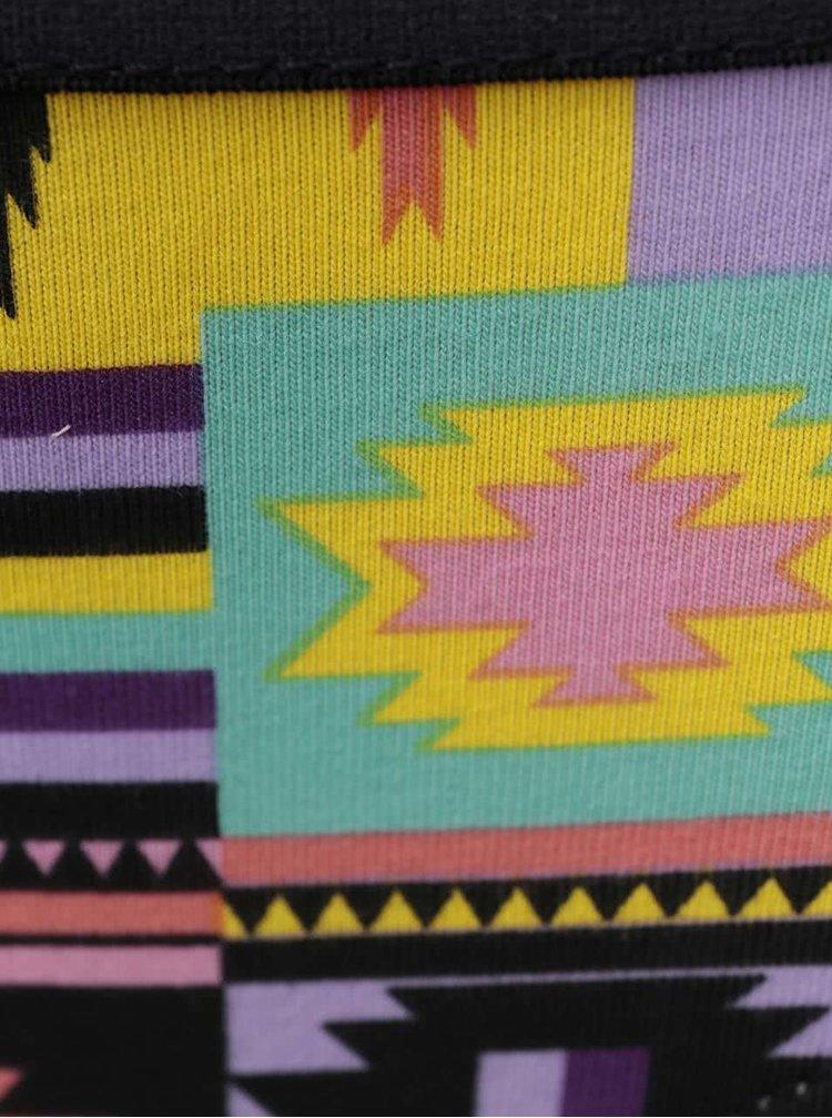 Farebné vzorované nohavičky Happy Socks Patch Inca