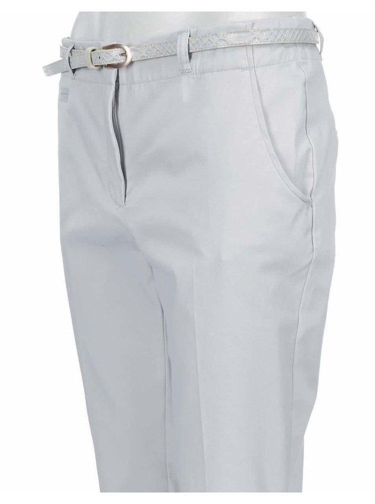 Svetlosivé nohavice VERO MODA Roos