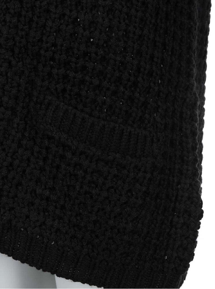Cardigan confortabil negru VERO MODA
