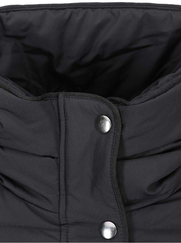 Čierna prešívaná bunda VILA Lonar