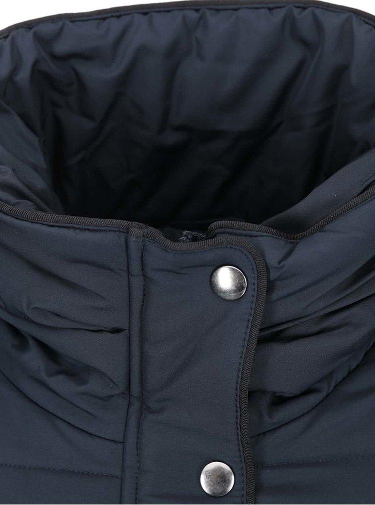 Tmavě modrá prošívaná bunda VILA Lonar