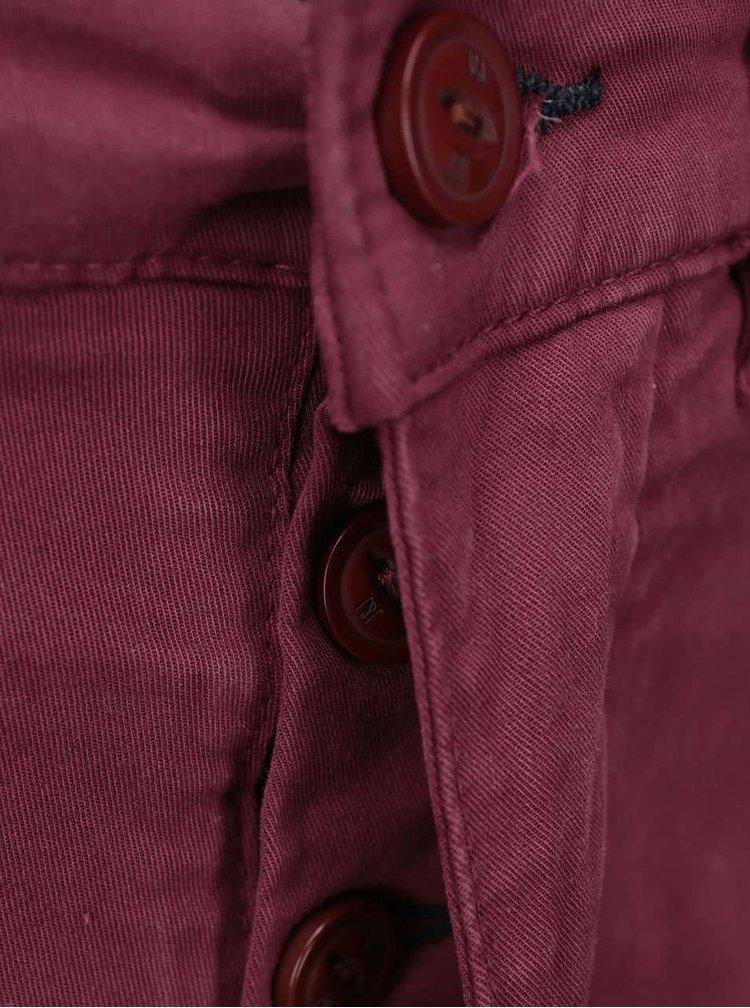 Pantaloni chino visinii Jack & Jones Bolton