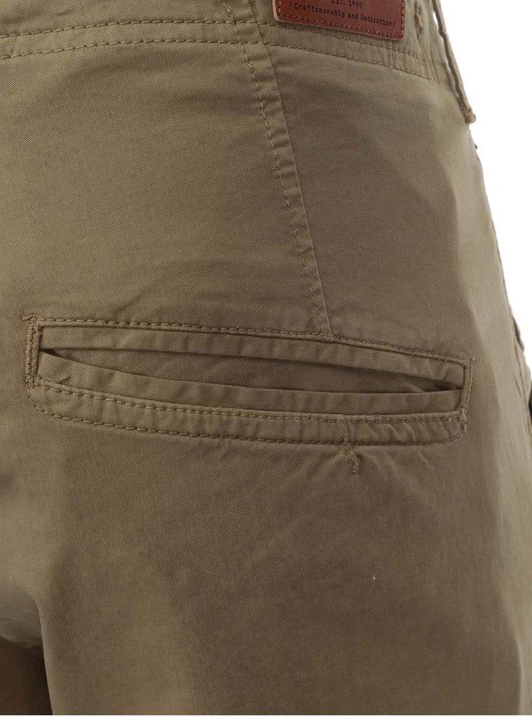 Béžové kapsáčové nohavice Jack & Jones Glenn
