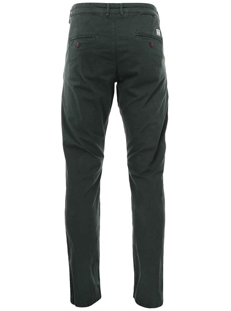 Pantaloni chino verde închis Jack & Jones Bolton