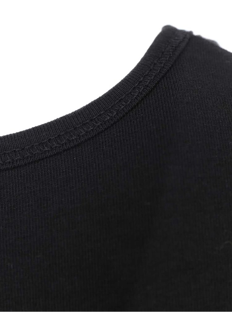 Tricou negru ONLY Live Love