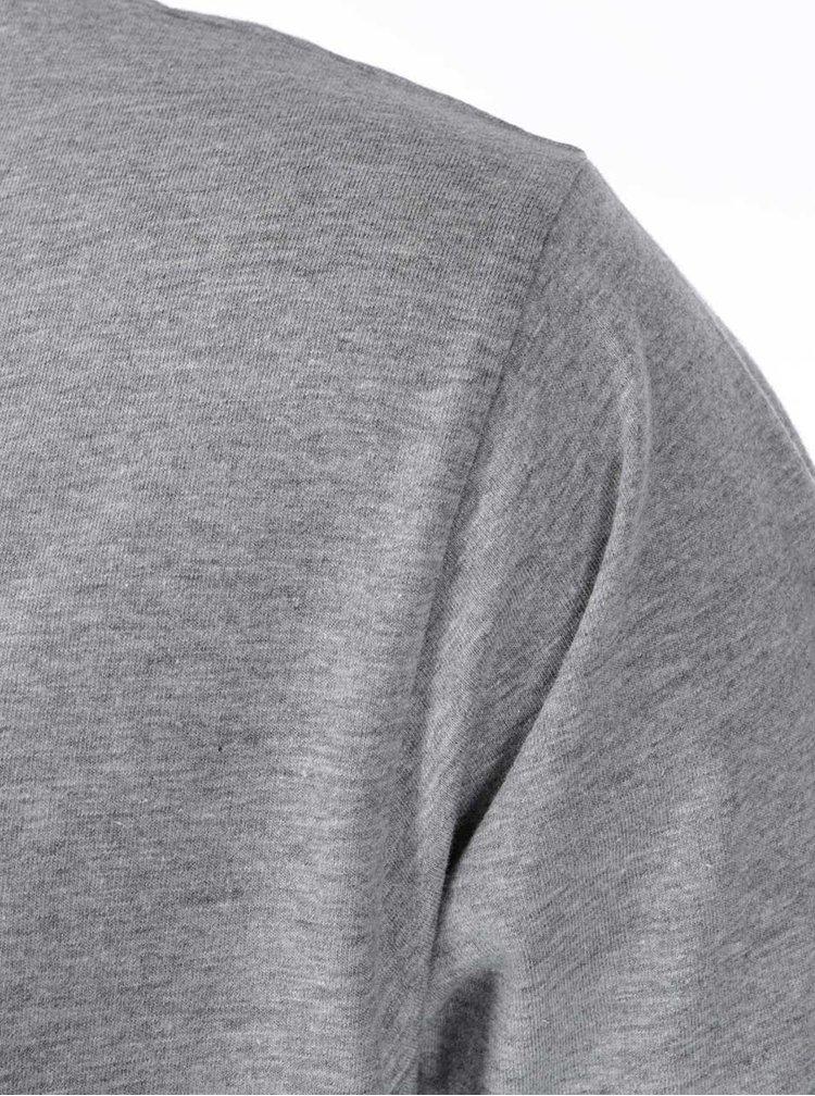 Sivé pánske tričko ZOOT Originál Friday Everyday