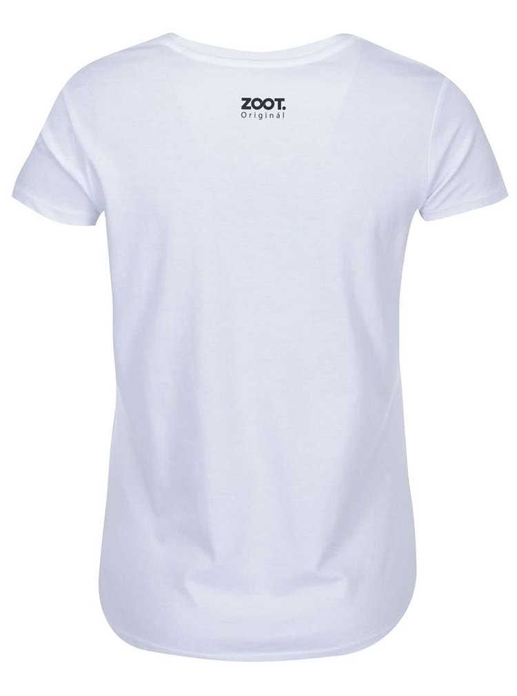 Bílé dámské tričko ZOOT Originál Coffee