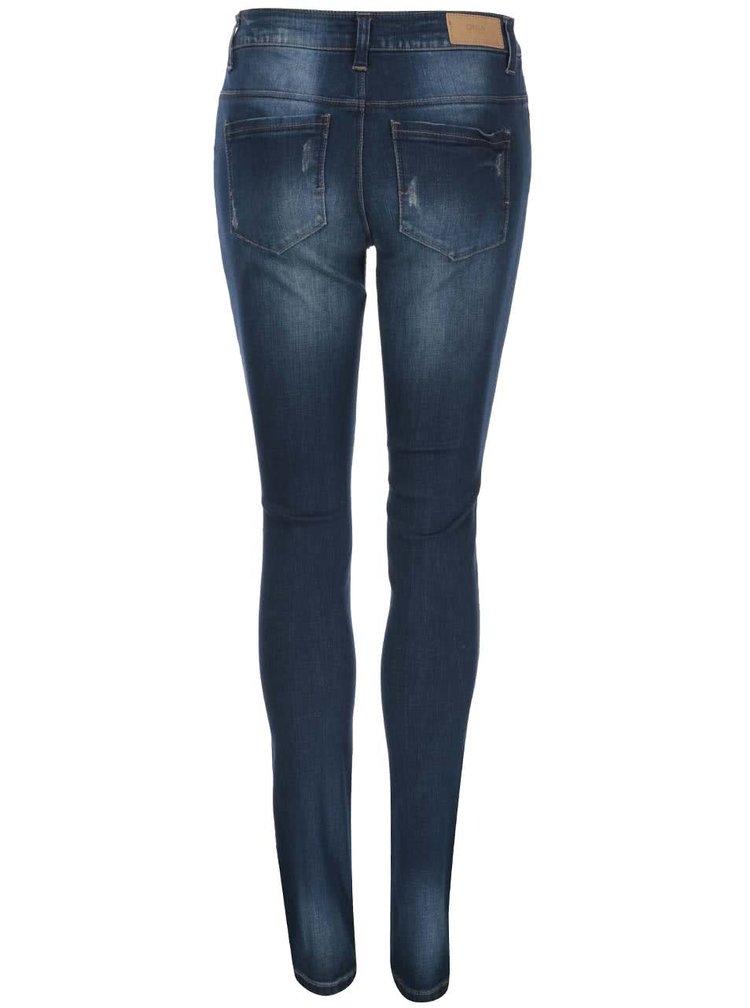 Tmavě modré džíny ONLY Coral
