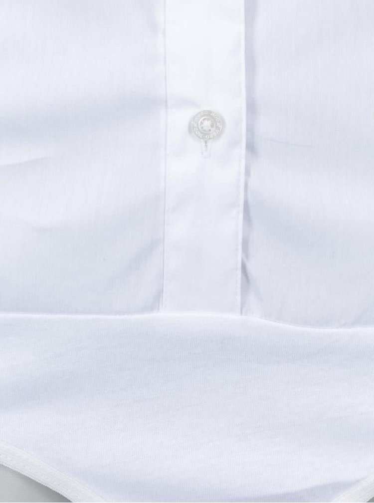 Bílá body košile VERO MODA Cousin
