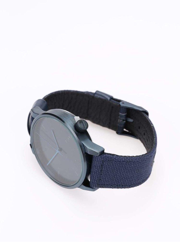 Tmavomodré unisex hodinky Komono Winston Heritage