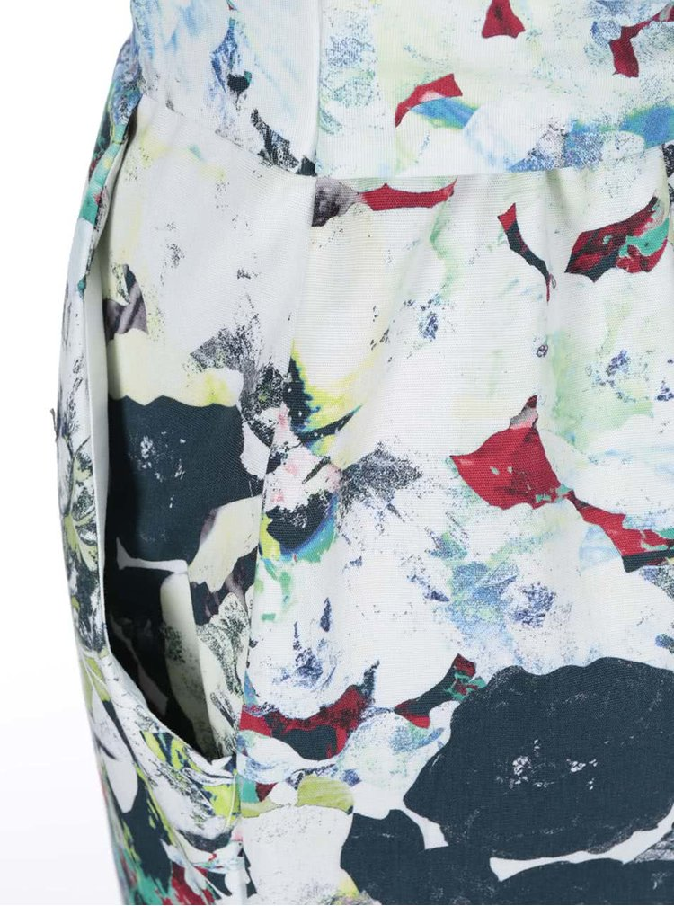 Farebné šaty s kvetovanou potlačou Closet