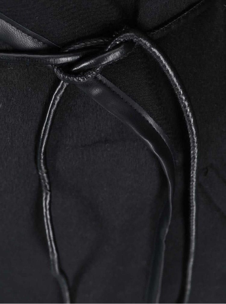 Čierny ľahký kabát VILA Chic