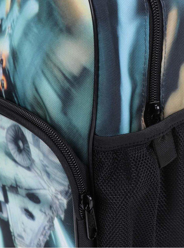 Čierno-zelený dámsky ruksak adidas Originals Star Wars