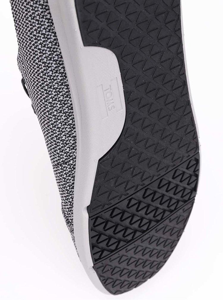 Pantofi sport bărbătești Toms Viaje gri cu model