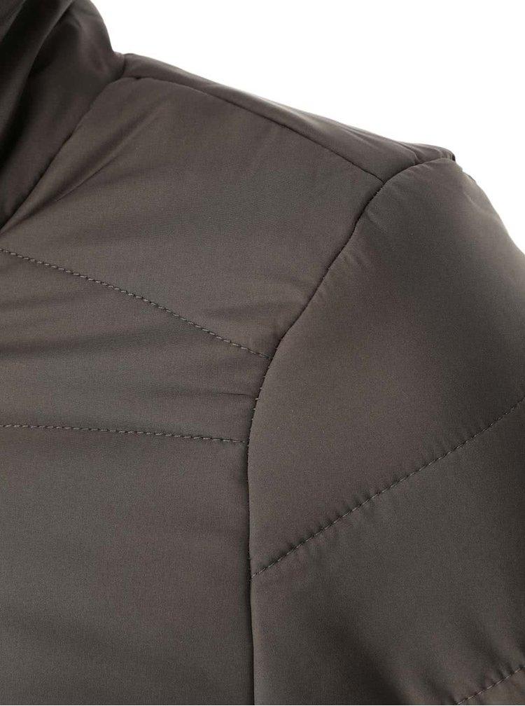 Khaki prošívaná bunda VILA Lonar