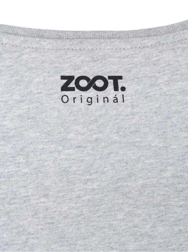 Šedé dámské tričko ZOOT Originál Various