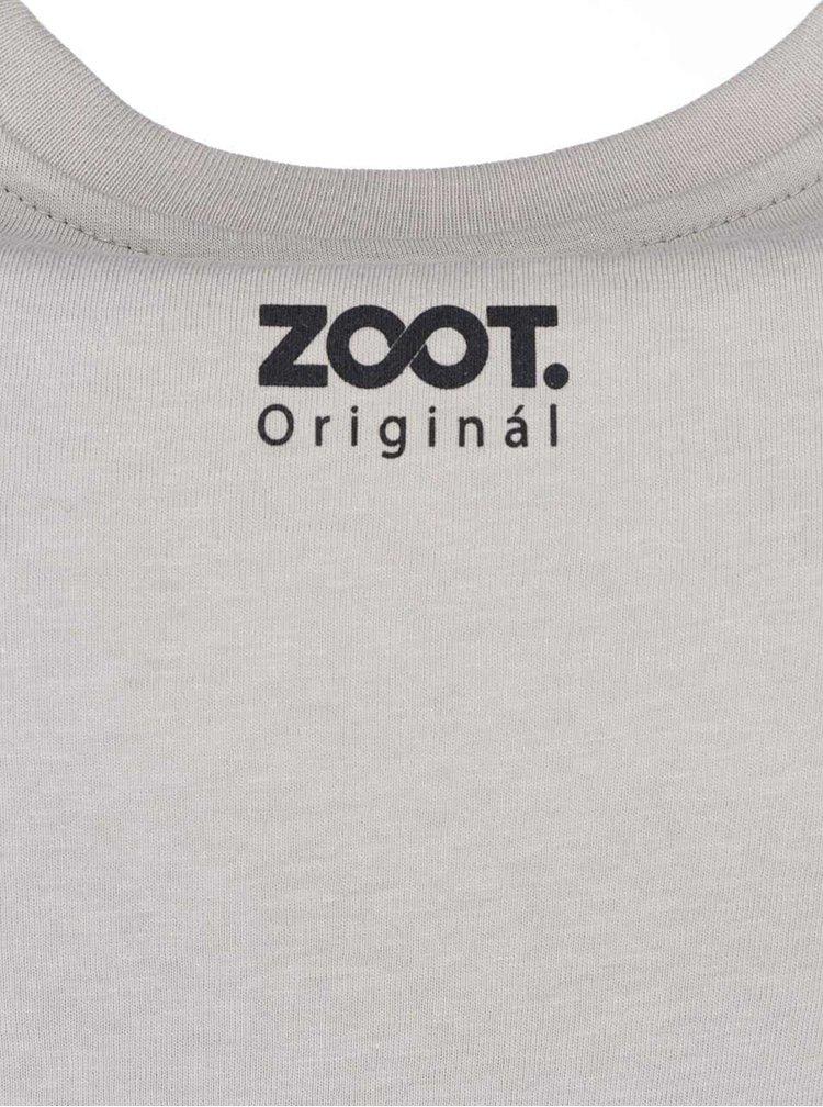 Sivé pánske tričko ZOOT Originál Kazeta