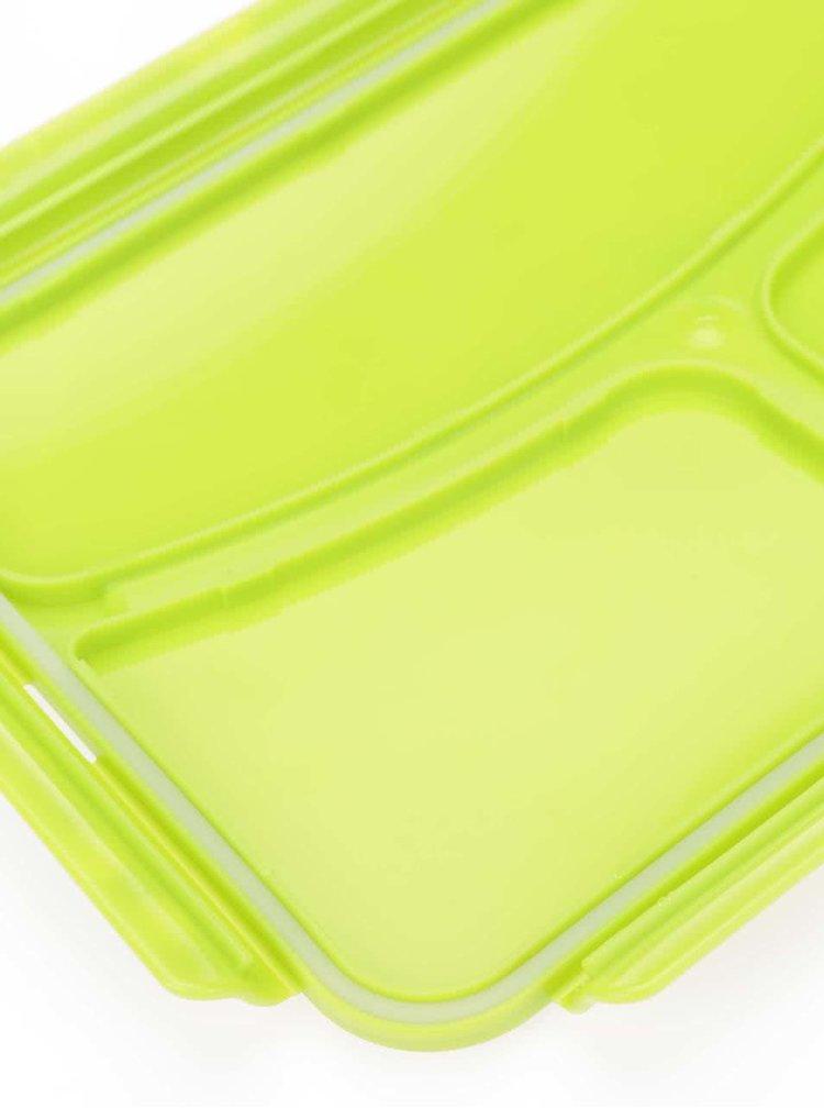 Zelený box na oběd Prêt à Paquet