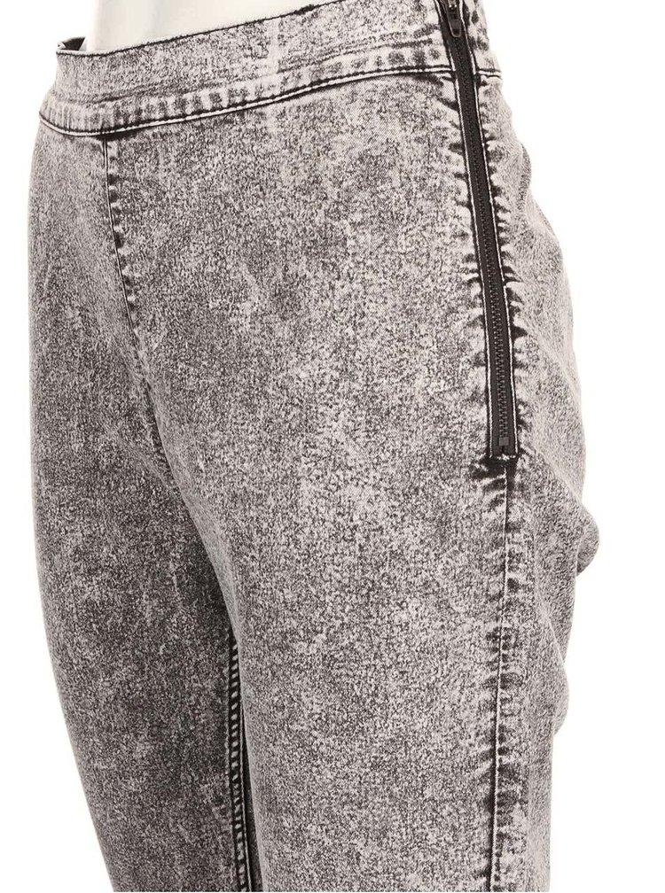 Šedé dámské plísňové džíny Cheap Monday
