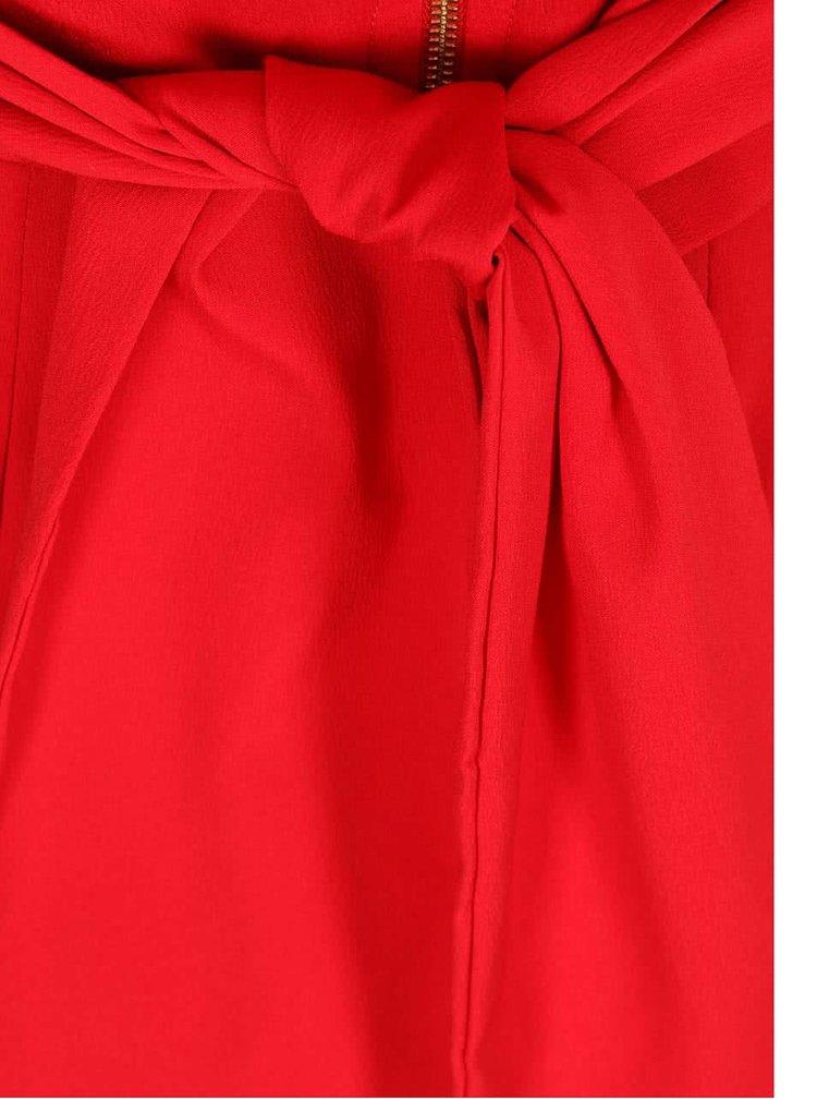 Rochie roșie CLOSET cu mâneci cu lungimea 3/4