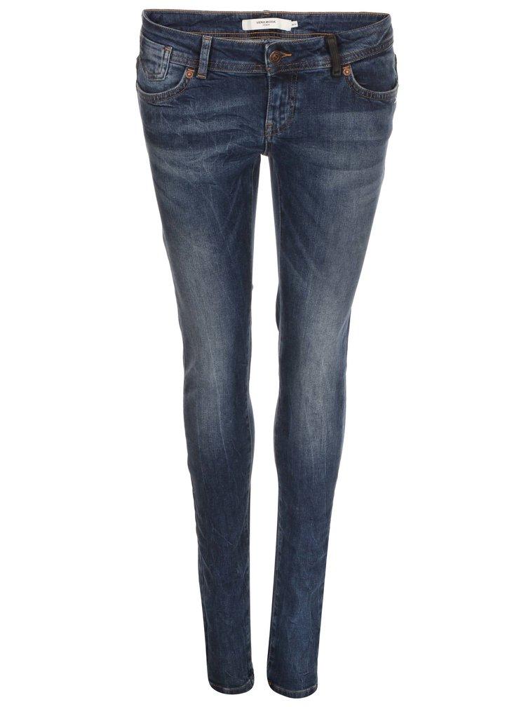 Tmavě modré skinny džíny VERO MODA One