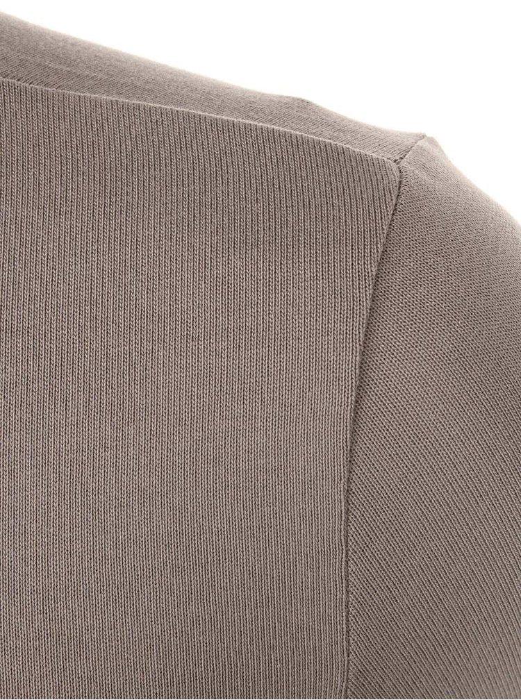 Pulover cu guler rulat gri VERO MODA Luxo