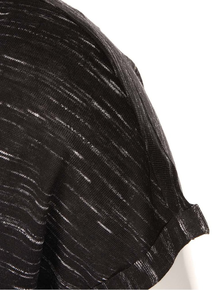 Tricou cu maneca scurta, negru, cu imprimeu, de la Noisy May Jimmy