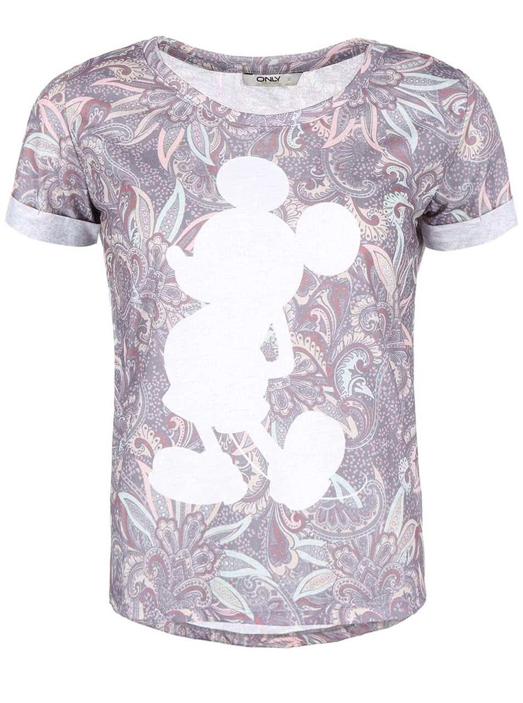 Tricou Mickey by ONLY, imprimeu cu Mickey Mouse