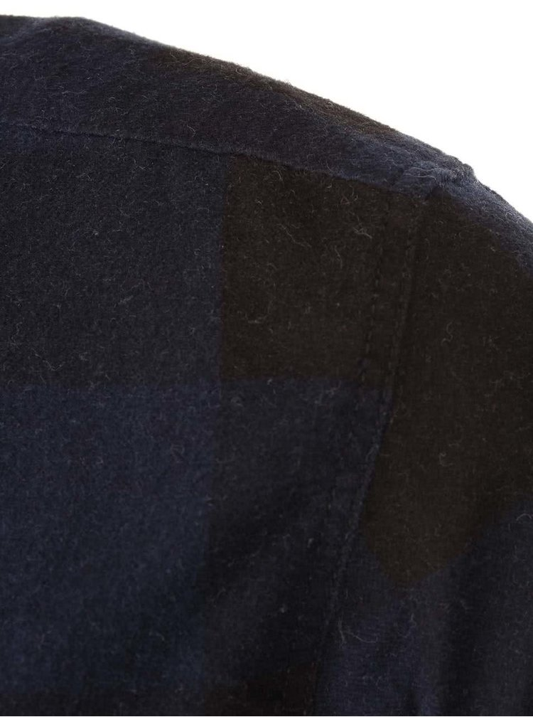 Cămașă în carouri Jack & Jones Grunde - albastru și negru
