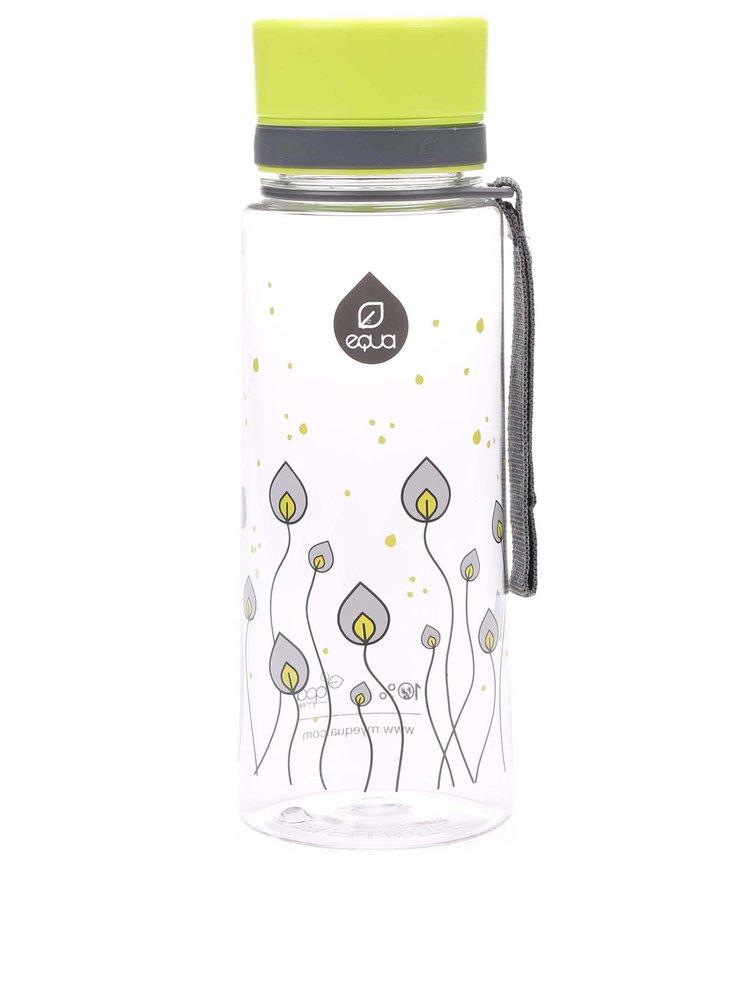 Plastová láhev s motivem listů EQUA (600 ml)