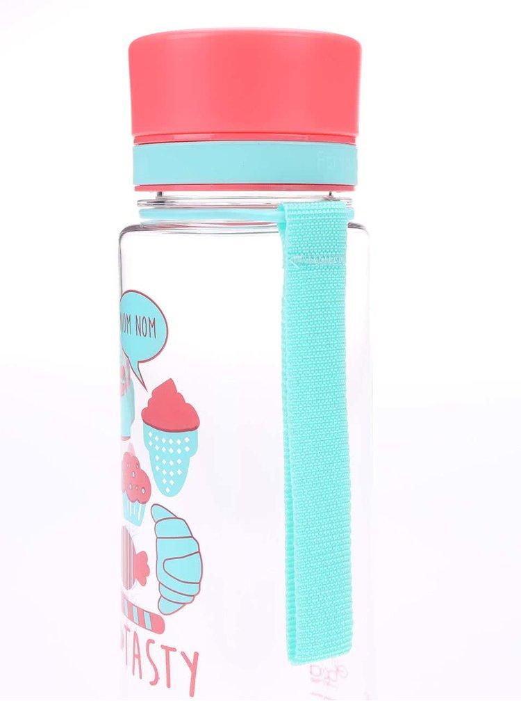Plastová fľaša s motívom sladkostí EQUA (600 ml)