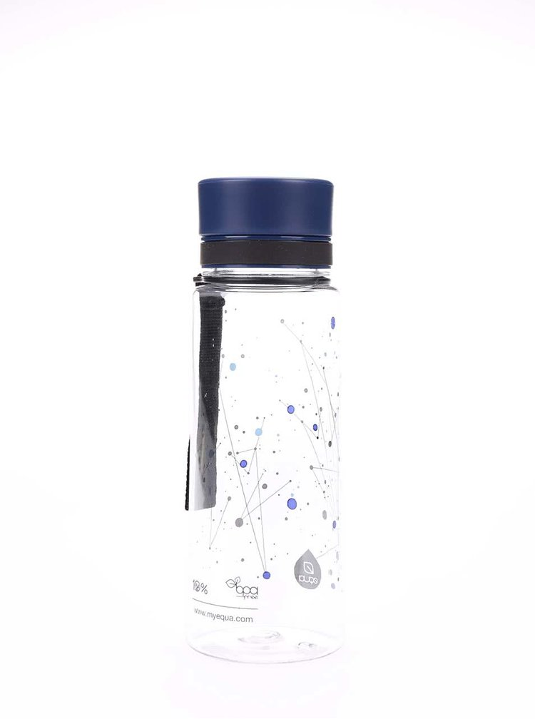 Recipient din plastic EQUA cu imprimeu (600 ml)
