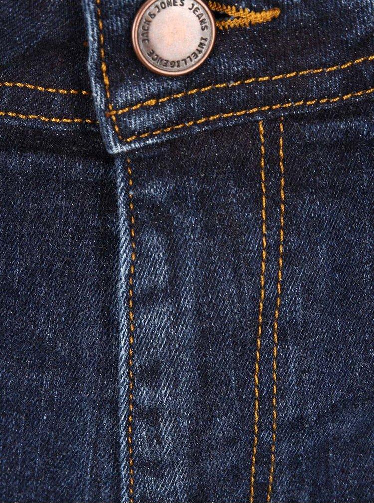 Tmavě modré skinny džíny Jack & Jones Ben