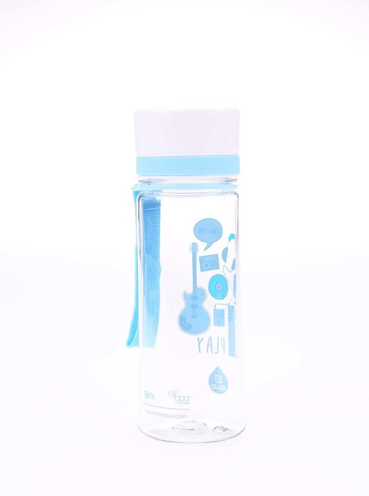 Plastová fľaša s hudobnými nástrojmi EQUA (400 ml)