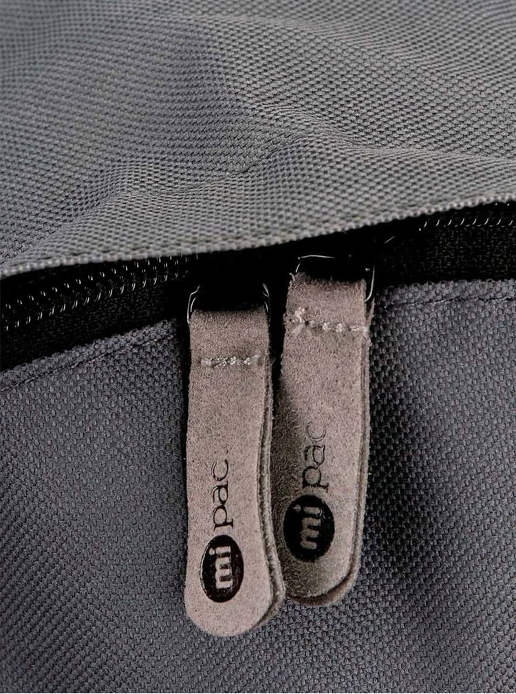 Sivý unisex batoh Mi-Pac Classic