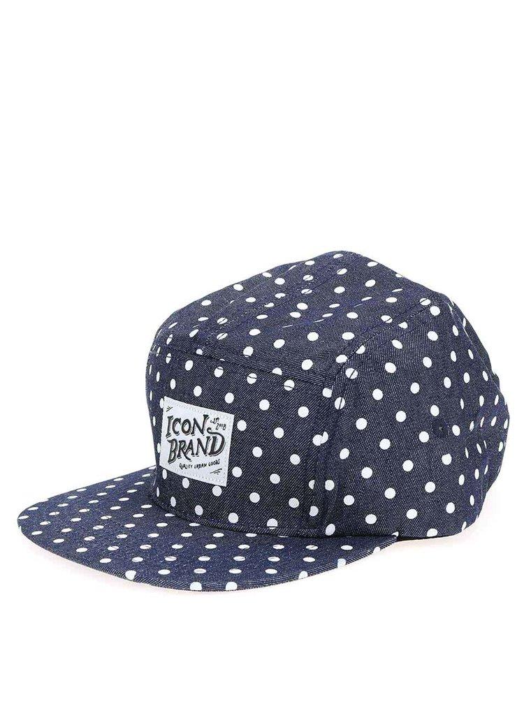 """Icon Brand """"Non Stop"""" Șapcă de Baseball Bleumarin cu Buline"""