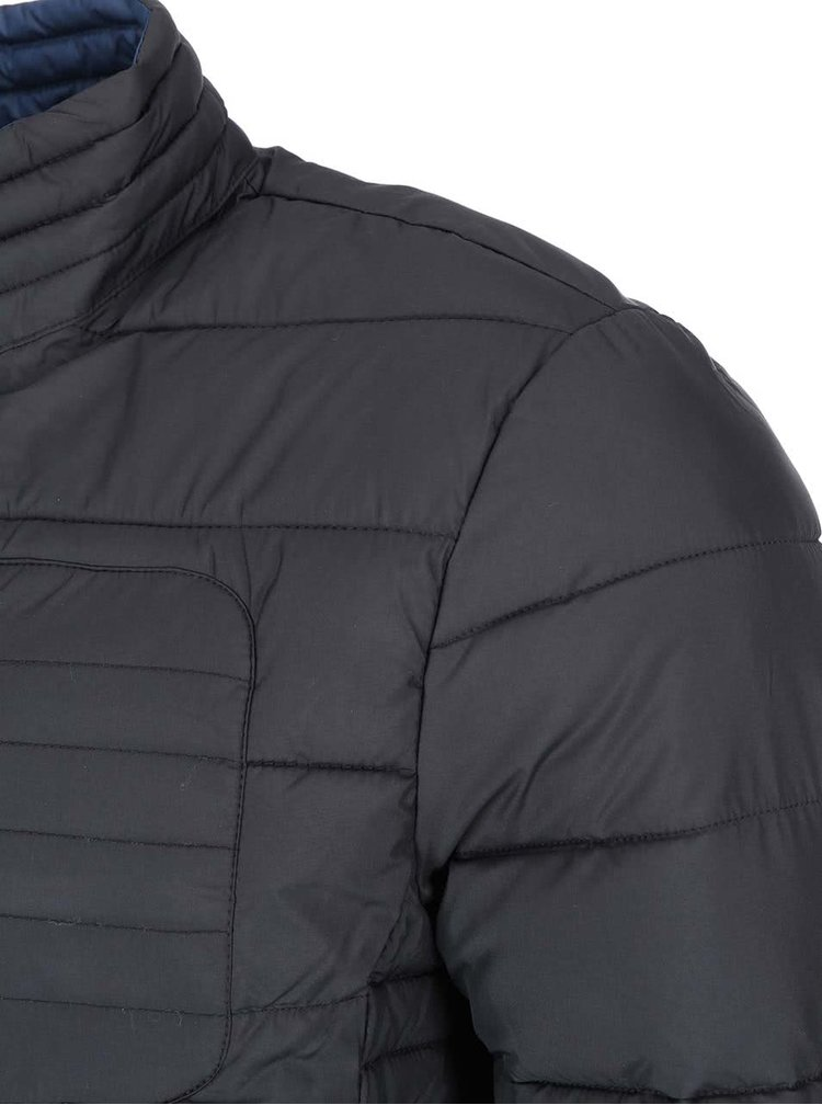 Modro-černá prošívaná bunda ONLY & SONS Theo