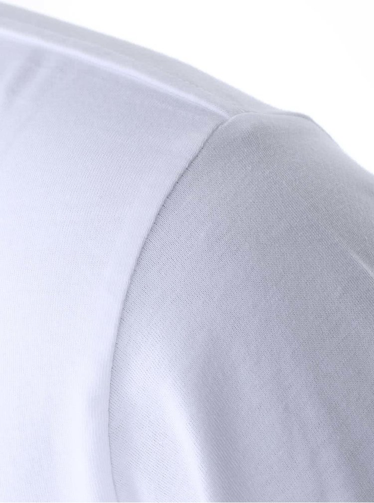 """""""Dobré"""" bílé pánské triko Diakonie Tečky"""