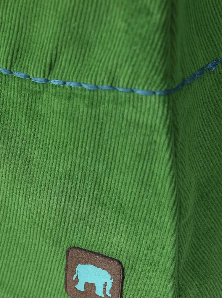 Zelená sukňa s vreckami Tranquillo Isolde