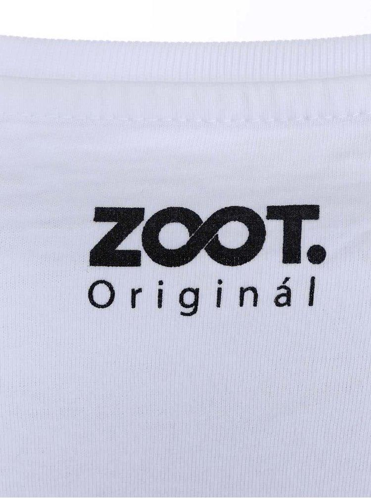 Bílé dámské triko ZOOT Originál Škola je nejlepší