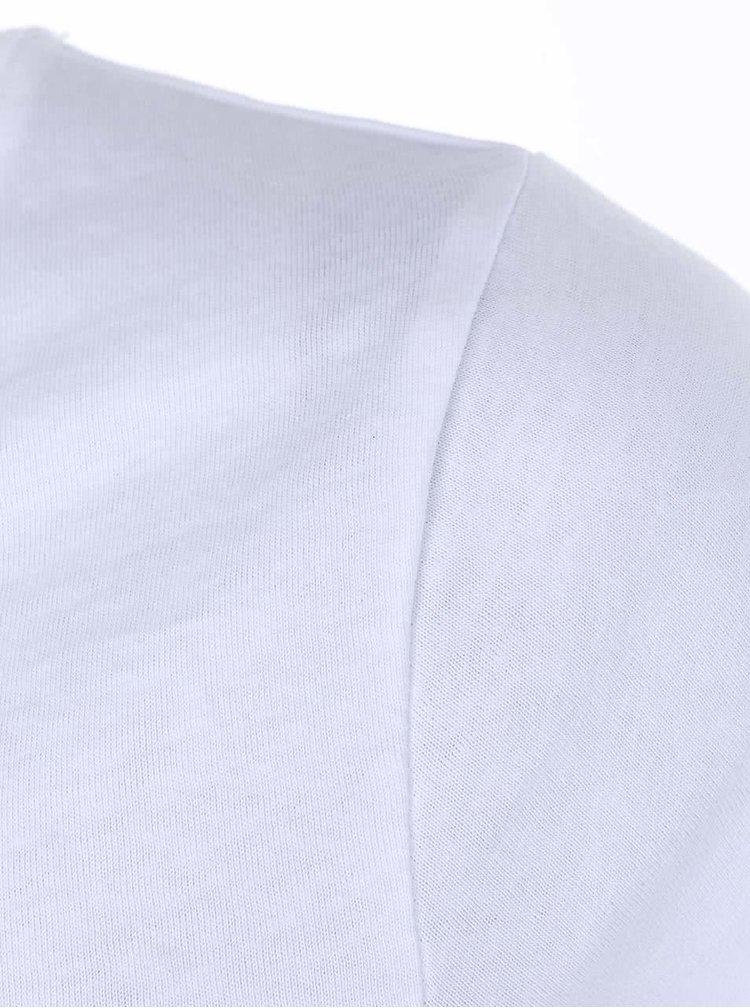 Biele dámske tričko ZOOT Originál Pravítko